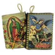 Rosary Case - Tapestry of Our Lady of Guadalupe