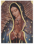 Small Plaque - Our Lady of Guadalupe Style HI530217