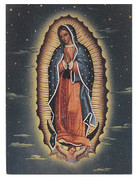 Small Plaque - Our Lady of Guadalupe Style HI530268