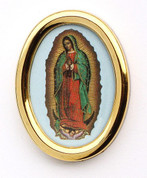 Our Lady of Guadalupe Auto Plaque Style DV914GUA