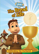 The Bread of Life Brother Francis Coloring Book 16 pages measures 8 and 1 half by 11 inches HERBF02CB
