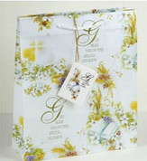 Special Occasion Gift Bag with words God Bless You On This Special Occasion with White Cord Handles and Gift Tag RI118010