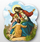 Magnet - Jesus and Children Style FAR15G21