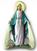 Magnet - Our Lady of Miraculous Medal Style FAR15M04