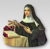 Magnet - St Theresa Little Flower Style FAR15S59