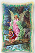 Plaque - Guardian Angel and Children Style FAR1151A02