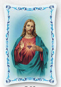 Plaque - Sacred Heart of Jesus Style FAR1151C02