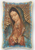 Plaque - Our Lady of Guadalupe Style FAR1151M50