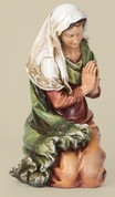 1 Traditional Virgin Mary from Joseph's Studio 39 inch scale collection resin measures 24 and 1 quarter inches tall RO35022
