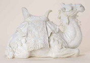 1 Piece Nativity Camel only in White resin stands 14 inches RO36215