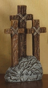 """Tabletop Crucifix """"He is Risen"""" - Style 63872"""