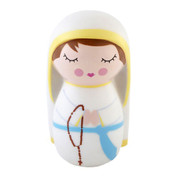 Cute Kids saint doll of our lady lourdes shining light doll
