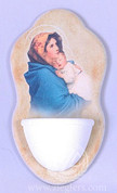"Holy Water Font | Madonna Of the Street | 6"" x 2-1/2"" 