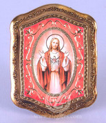 Guilded Frame of Sacred Heart of Jesus - Style FAR1286C01