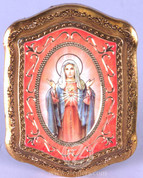 Guilded Frame of Immaculate Heart of Mary - Style FAR128C51