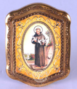 Guilded Frame of St Francis of Assisi - Style FAR1286S35