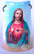 Ceramic Tile with Sacred Heart of Jesus - Style FAR2203C02