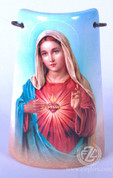 Ceramic Tile with Immaculate Heart of Mary - Style FAR2203C52