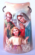 Ceramic Tile with Holy Family - Style FAR2203F01