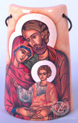 Ceramic Tile with Icon Holy Family - Style FAR2203I102
