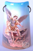 Ceramic Tile with St Michael - Style FAR2203S53