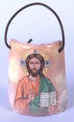 Small Ceramic Tile with Christ the Teacher - Style FAR233I99