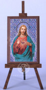 Framed Icon with Sacred Heart of Jesus - Style FAR1221C02