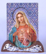 Plaque with Immaculate Heart of Mary - Style FAR1305C52