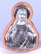 Plaque of Sacred Heart of Jesus - Style FAR1416C02