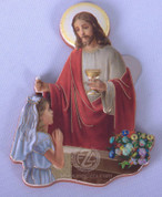 First Communion Magnet Christ Administers Holy Communion Girl FAR15K29