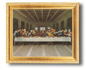 Framed Print of The Last Supper by Davin - Style HI107370