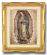 Framed Print of Our Lady of Guadalupe with Angels - Style HI158221