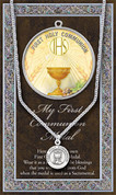 First Communion Symbol Medal - Style HI950695