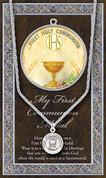 First Communion Symbol Medal - Style HI950695
