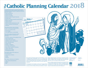 2018 the catholic planning calendar ltpc18