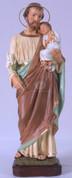 St Joseph with Child Statue - Style SANV0769