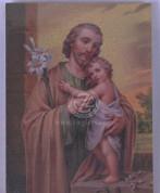 Plaque of St Joseph - Style HI530630