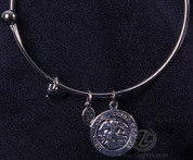 Bracelet with St Michael Medal - Style CTPRB204AS