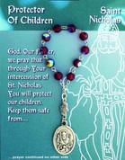 Decade Rosary - St Nickolas Protector of Children DV08022NIK