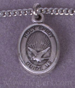 Holy Spirit Pendant in Sterling Silver - Style BL9044SS18S