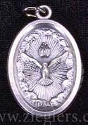 Holy Spirit Oxidized Medal - Style BOM51E