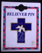 Holy Spirit Dove Lapel Pin - Style FSCG276