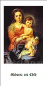 Holy Card for Regina Coeli - Style JB8002L