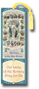 Bookmark Mysteries of the Rosary with Tassle - Style HIB6212