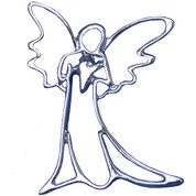 Lapel Pin of Guardian Angel - Style TSK140