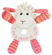 Wee Blessings - Lucy the Little Lamb Rattle - WBIW201541