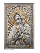 Plaque of Our Lady of Guadalupe - Style GOSR76550PE