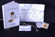First Communion Purse Set for Girl - Style RI1104
