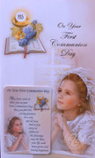 First Communion Greeting Card for Girl - Style RI113212