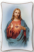 Plaque - Sacred Heart of Jesus Style C02 - Available in 2 Sizes